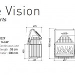 recuperadores grande vision, recuperadores a lenha, recuperador, invicta