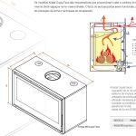 Recuperador Kristal 98 Dupla Face, Recuperador de calor Chama lenha, Recuperadores, Recuperador Chama