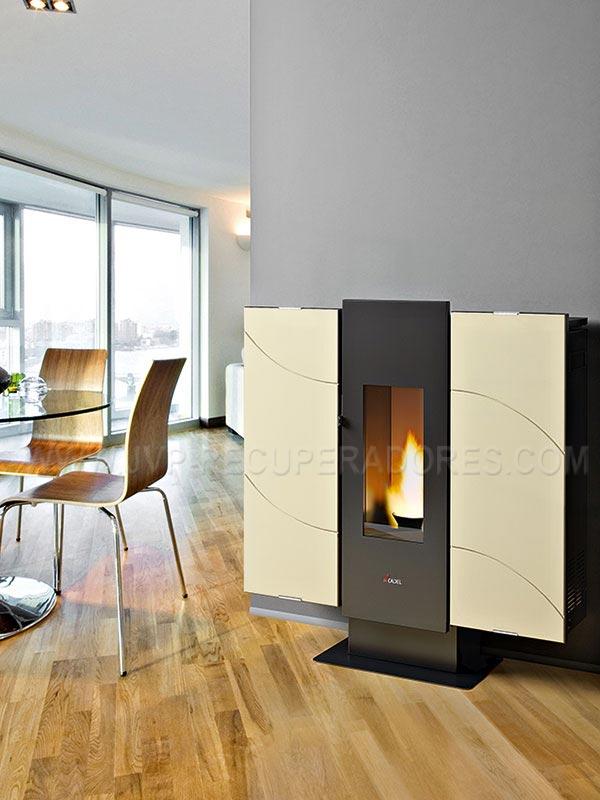 salamandras pellets wall salamandras de aquecimento. Black Bedroom Furniture Sets. Home Design Ideas