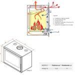 Recuperador Kristal 78, recuperadores de calor, recuperadores a lenha